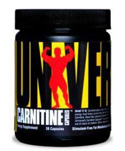 Carnitine Capsules 500 mg.