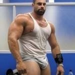 Massive, Bulging Muscle Giant
